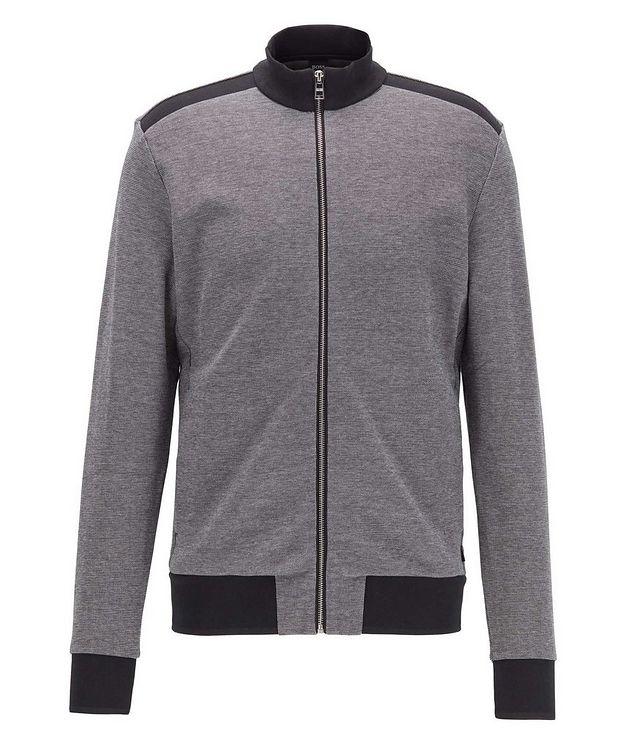 Zip-Up Cotton-Blend Sweatshirt picture 1