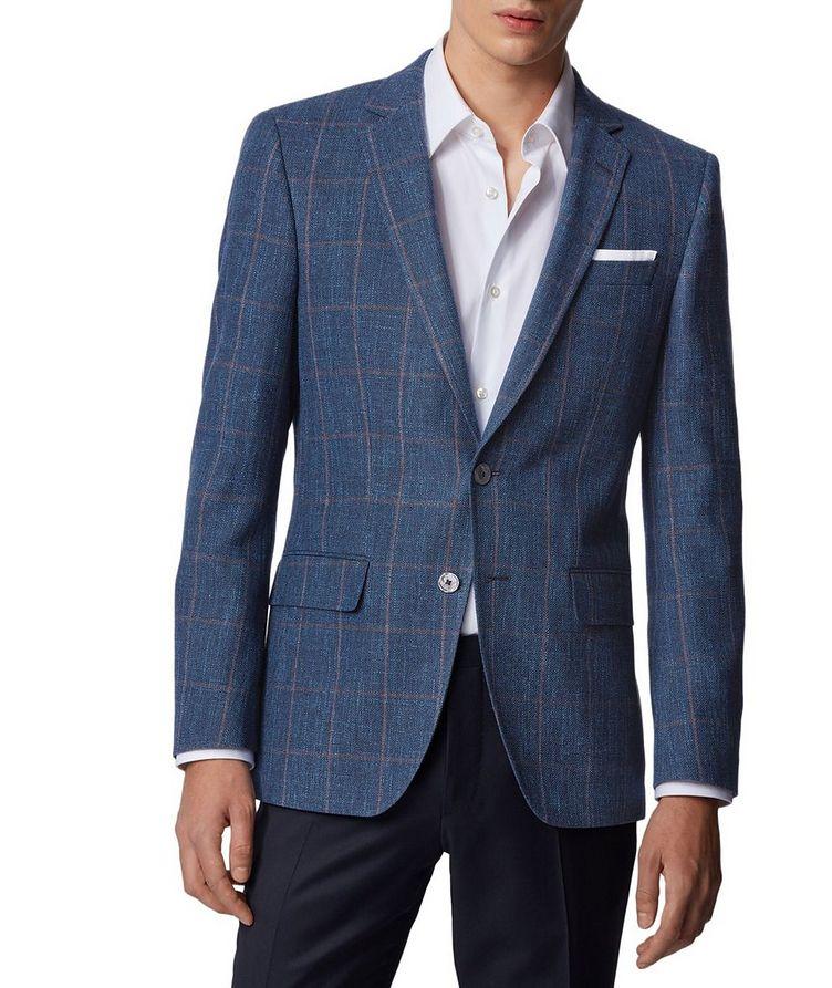 Hutsons4 Wool, Cotton & Linen Sports Jacket image 1