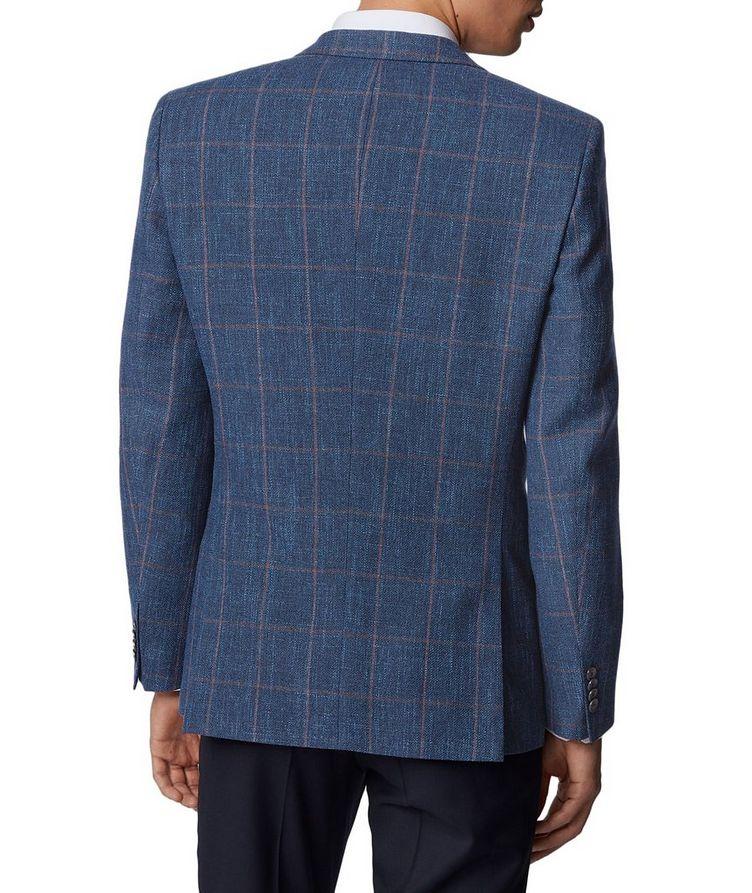 Hutsons4 Wool, Cotton & Linen Sports Jacket image 2