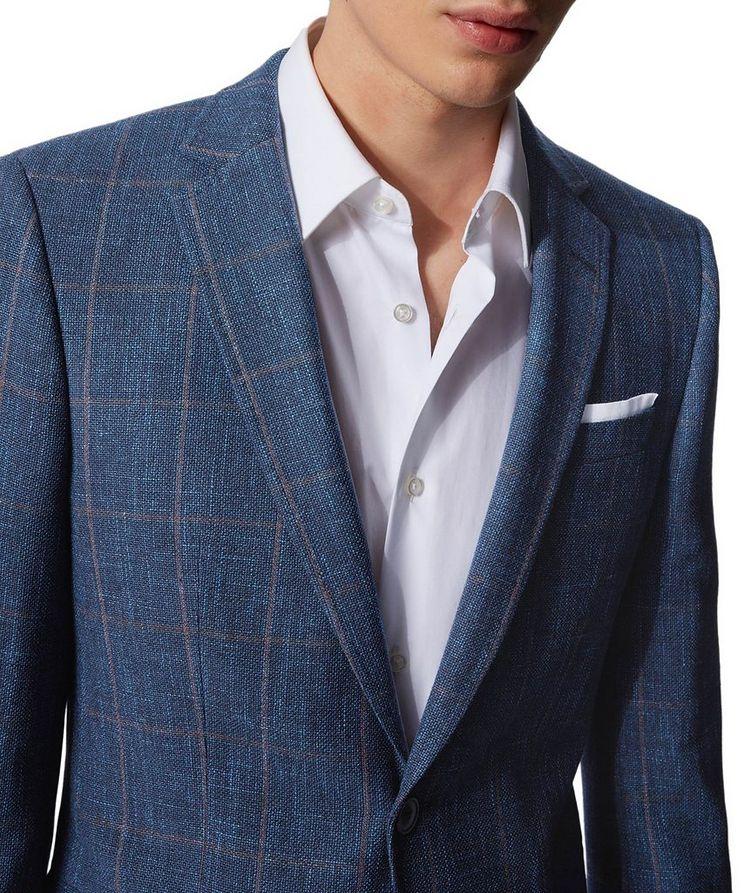 Hutsons4 Wool, Cotton & Linen Sports Jacket image 3