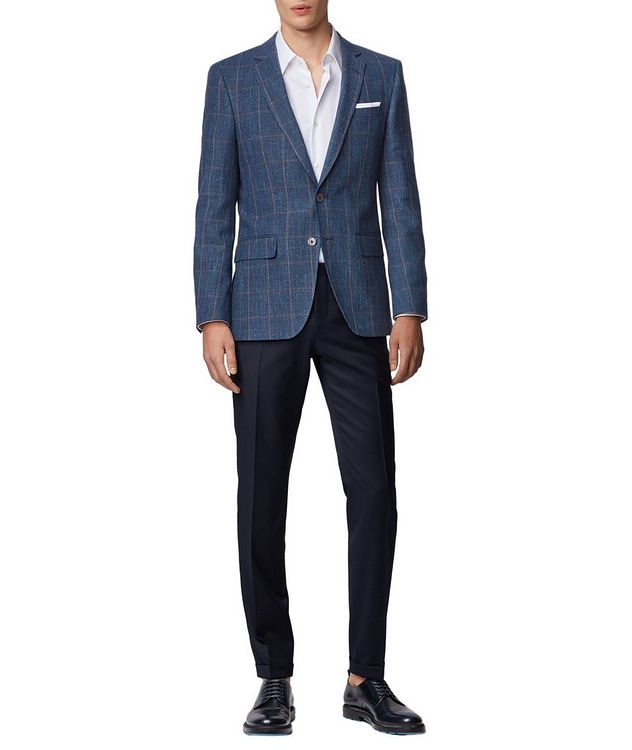 Hutsons4 Wool, Cotton & Linen Sports Jacket picture 5