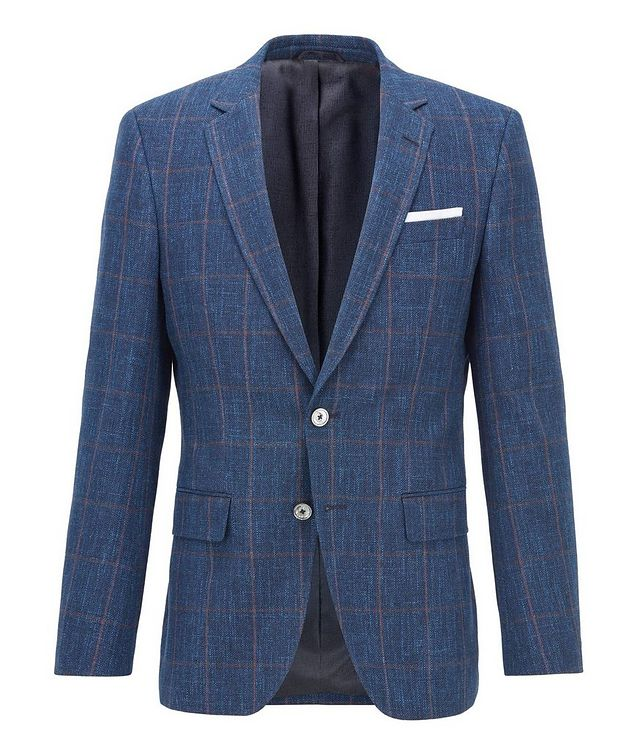 Hutsons4 Wool, Cotton & Linen Sports Jacket picture 1