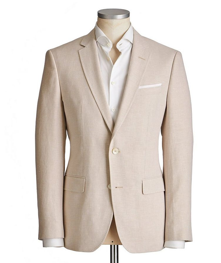 Hutsons4 Cotton-Linen Sports Jacket image 0