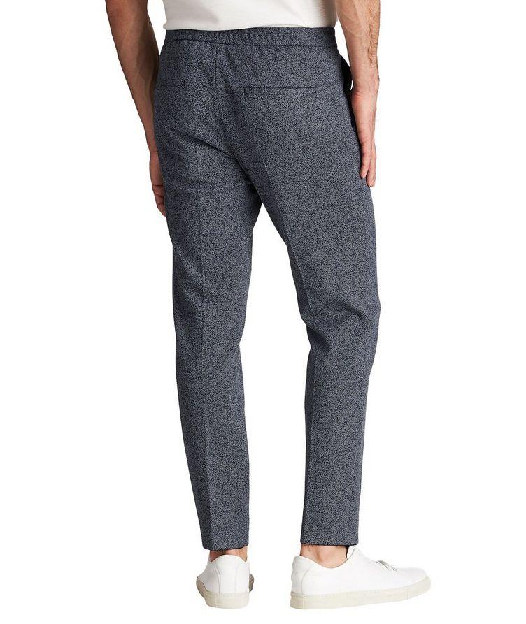 Drawstring Cotton-Blend Dress Pants image 1