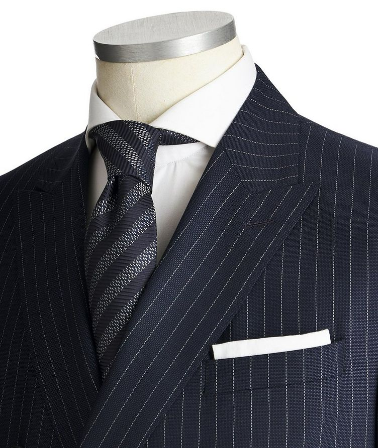 Namil3/Ben2 Double-Breasted Pinstriped Suit image 1
