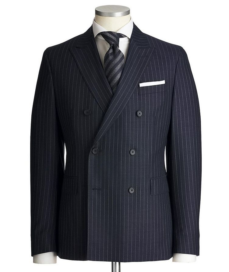 Namil3/Ben2 Double-Breasted Pinstriped Suit image 0