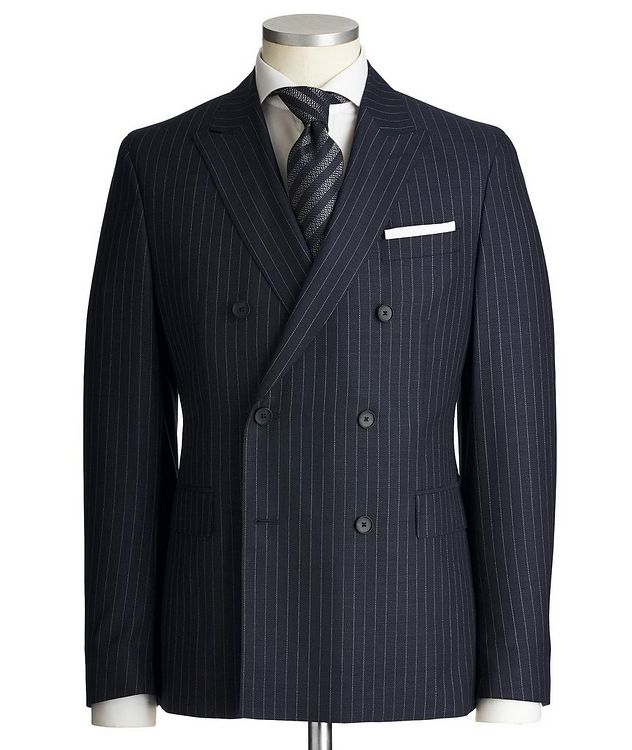 Namil3/Ben2 Double-Breasted Pinstriped Suit picture 1