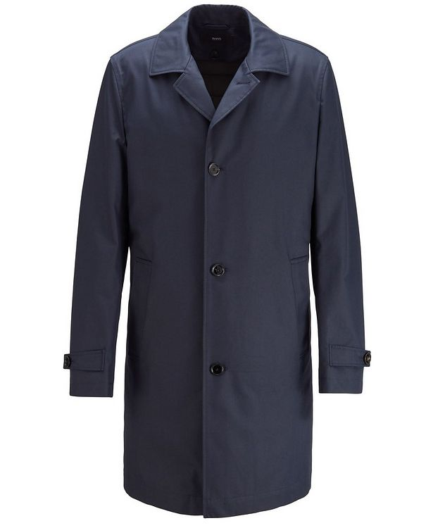 Derrek Cotton-Blend Coat picture 1