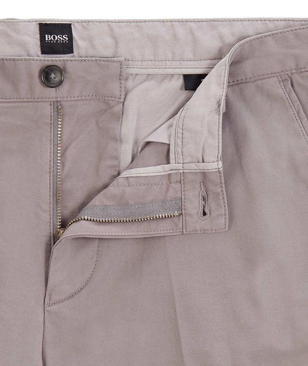 Slice Stretch-Cotton Shorts picture 2