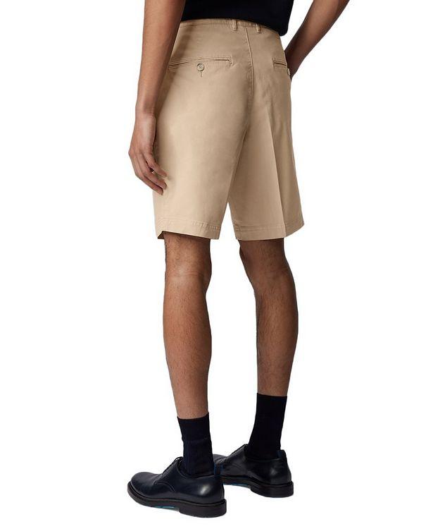 Slice Stretch-Cotton Shorts picture 3