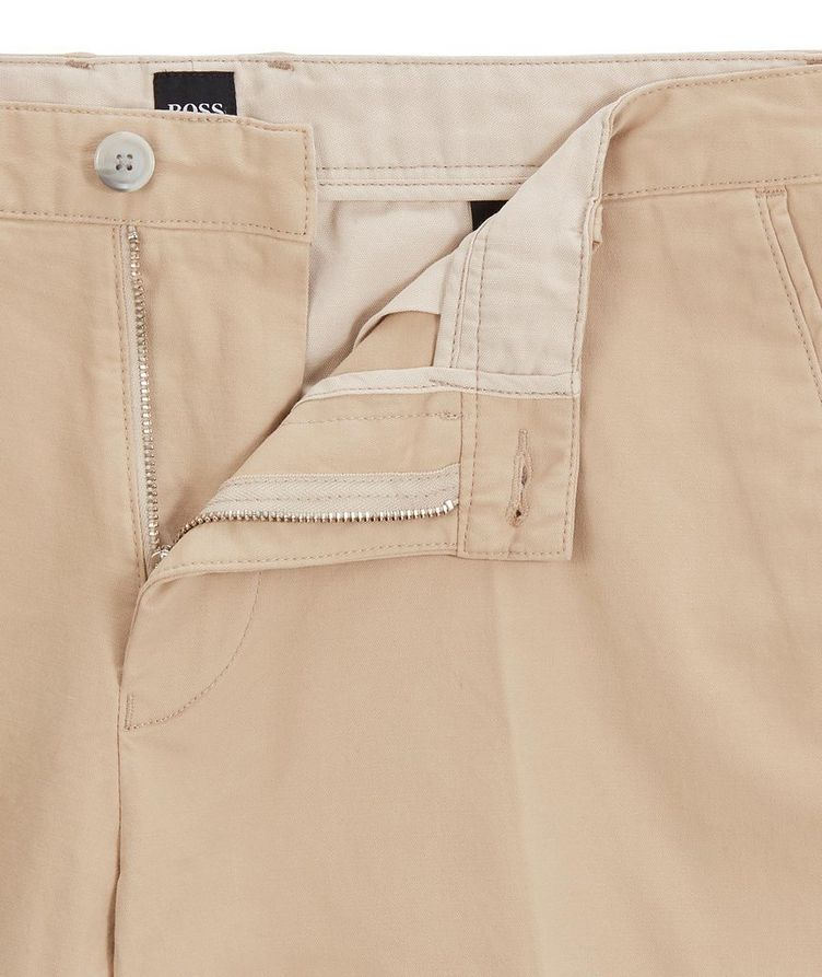 Slice Stretch-Cotton Shorts image 3