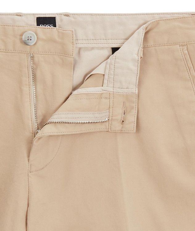 Slice Stretch-Cotton Shorts picture 4