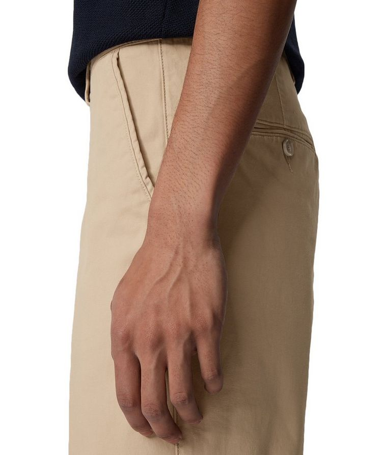 Slice Stretch-Cotton Shorts image 4