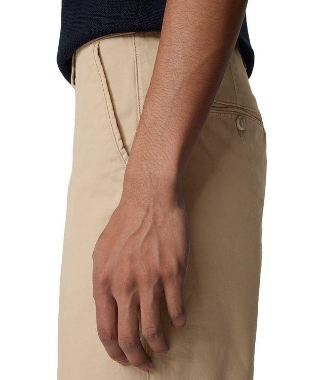 Slice Stretch-Cotton Shorts picture 5
