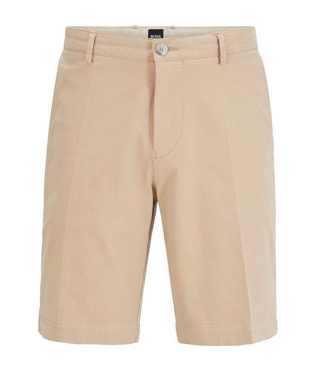 Slice Stretch-Cotton Shorts picture 1