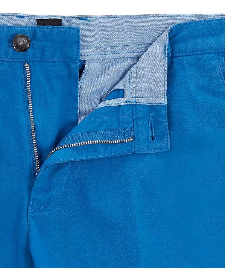 Slice Stretch-Cotton Shorts image 1