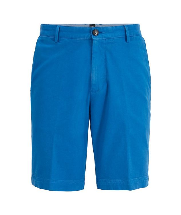 Slice Stretch-Cotton Shorts picture 1