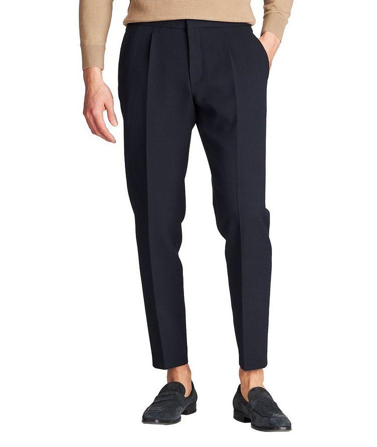 Pantalon habillé Brider1 à taille à cordon image 0