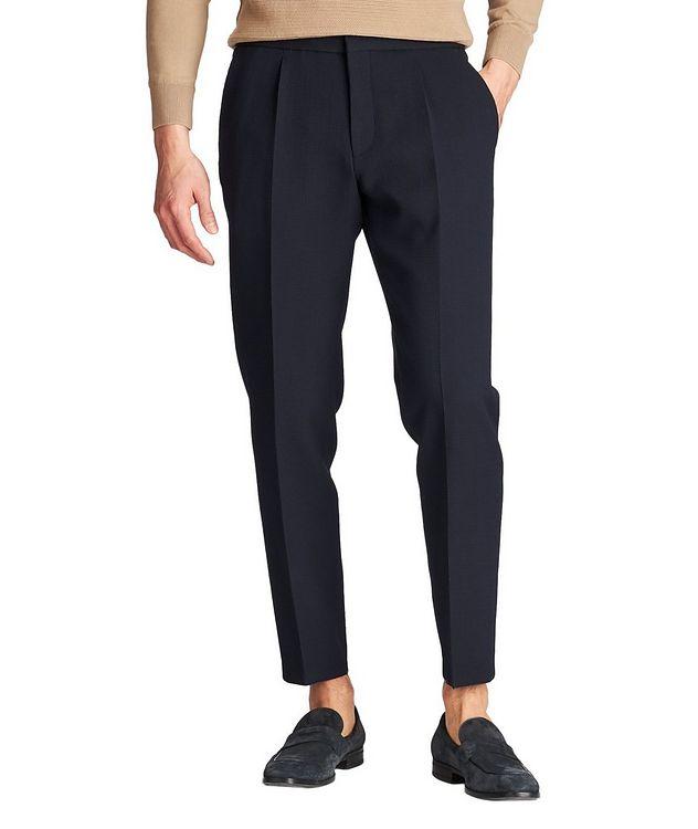 Pantalon habillé Brider1 à taille à cordon picture 1