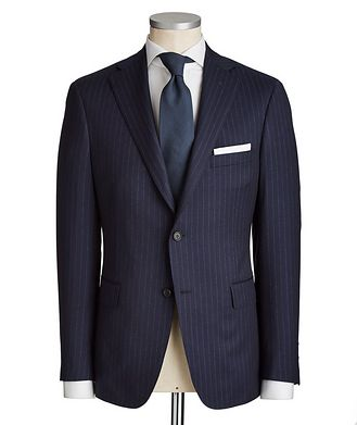 Samuelsohn Madison Pinstriped Suit