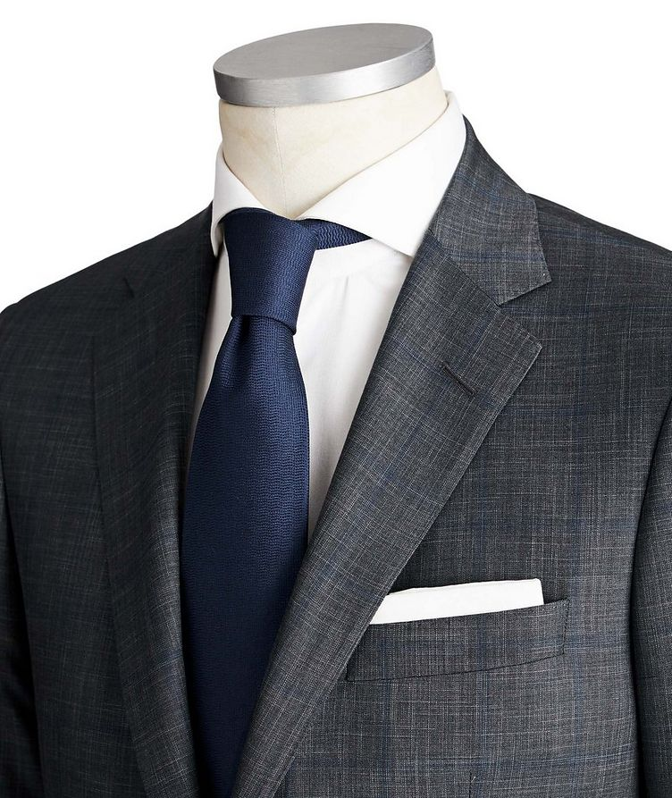 Cosmo Wool-Silk Suit image 1