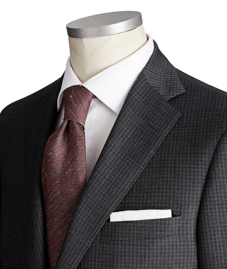 Madison Checked Suit image 1