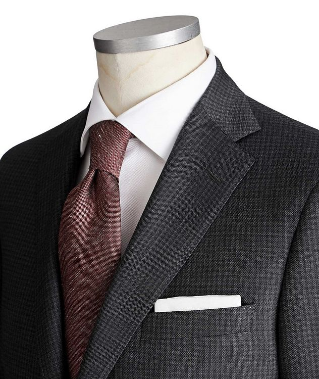 Madison Checked Suit picture 2