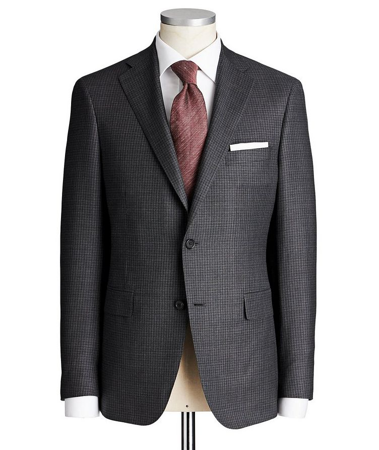 Madison Checked Suit image 0