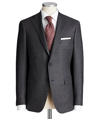 Samuelsohn Madison Checked Suit