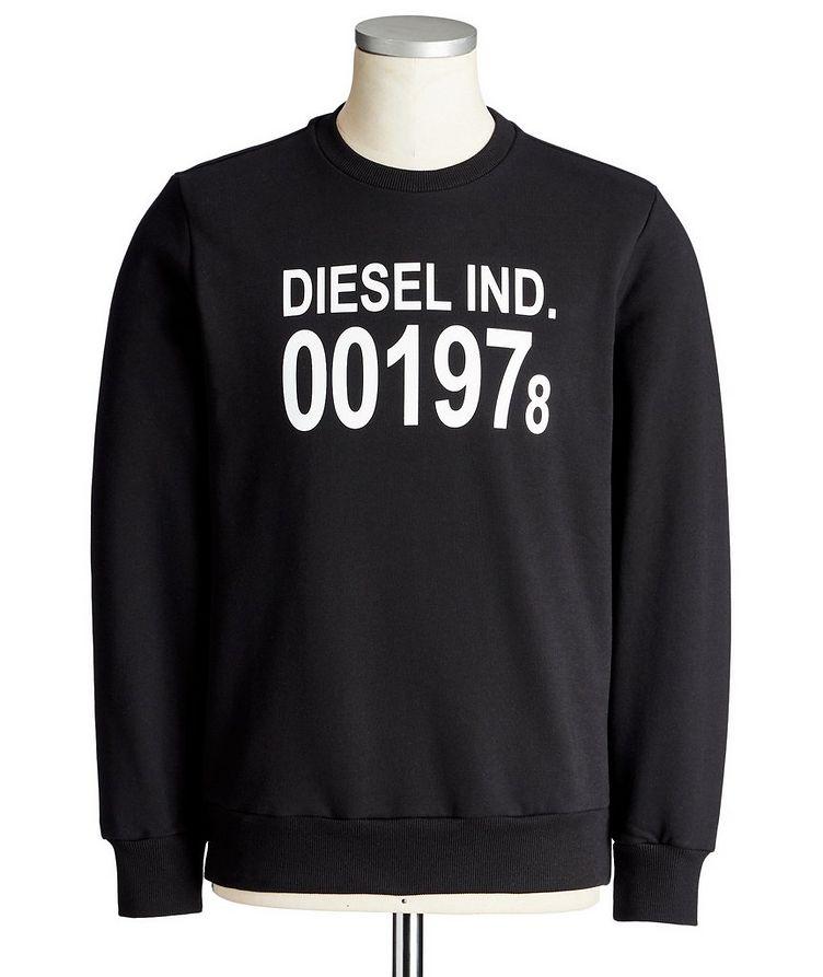Printed Cotton Sweatshirt image 0