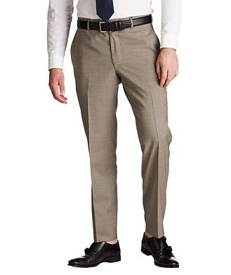 Samuelsohn Trim Fit Dress Pants