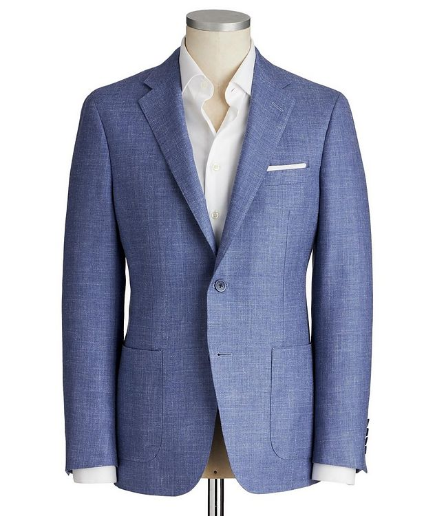 Cosmo Wool, Silk & Linen Sports Jacket picture 1