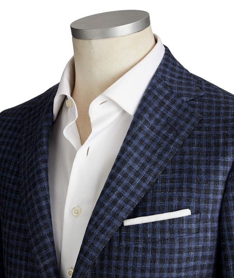 Cosmo Wool, Silk & Linen Sports Jacket image 1