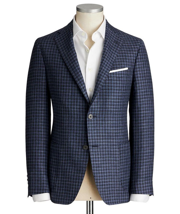 Cosmo Wool, Silk & Linen Sports Jacket image 0