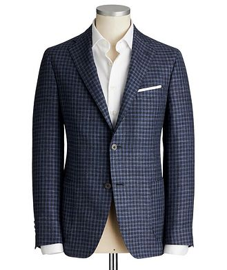Samuelsohn Cosmo Wool, Silk & Linen Sports Jacket
