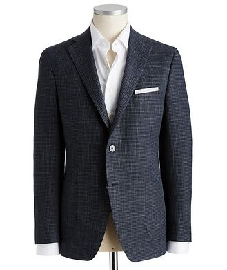 Samuelsohn Michael Wool, Silk & Linen Sports Jacket