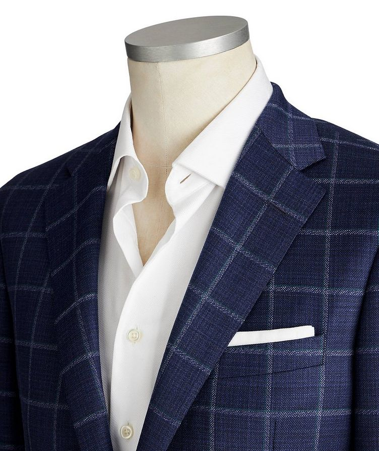 Cosmo Stretch-Wool Sports Jacket image 1