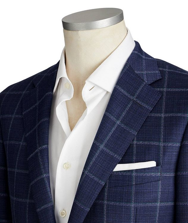Cosmo Stretch-Wool Sports Jacket picture 2