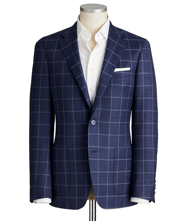 Cosmo Stretch-Wool Sports Jacket picture 1