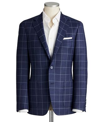 Samuelsohn Cosmo Stretch-Wool Sports Jacket
