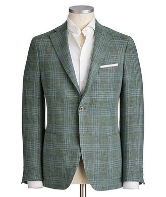 Samuelsohn Michael Linen-Wool Sports Jacket