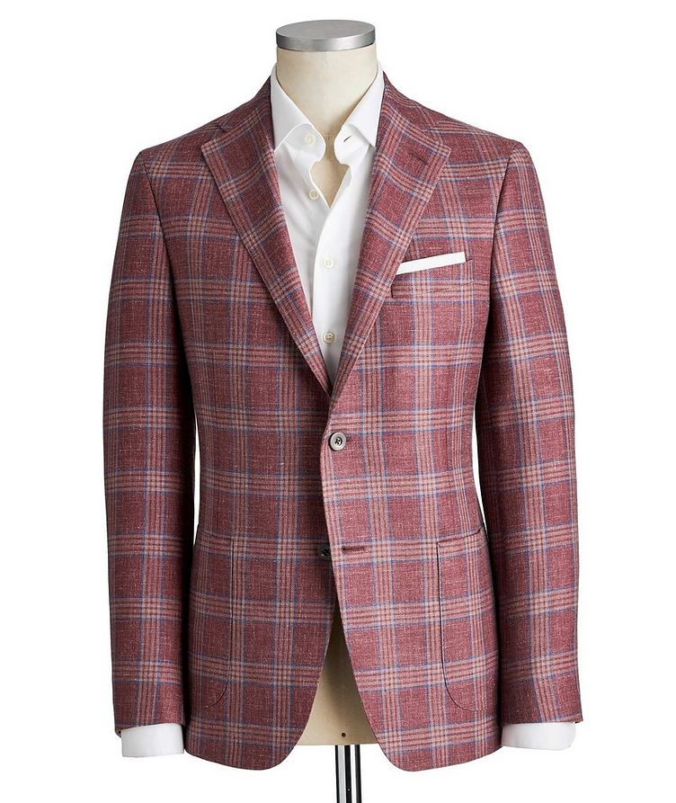 Michael Wool-Silk-Linen Sports Jacket image 0