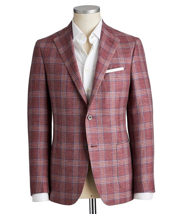 Michael Wool-Silk-Linen Sports Jacket picture 1