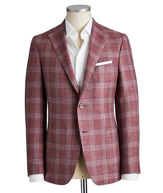 Samuelsohn Michael Wool-Silk-Linen Sports Jacket
