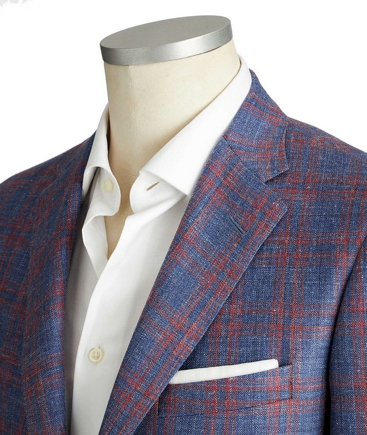 Cosmo Wool, Silk & Linen Sports Jacket image 1