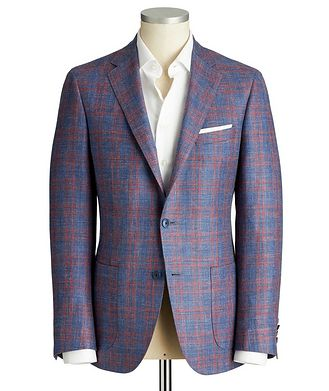 Samuelsohn Cosmo Wool, Silk & Linen Sports Jacket