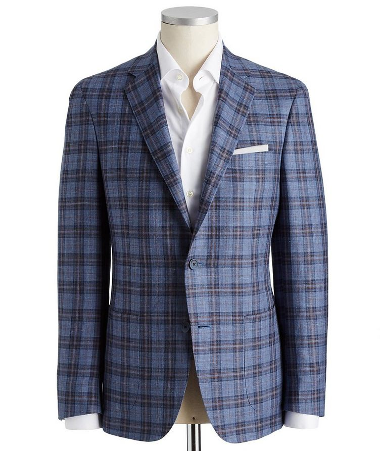 Cosmo Wool, Silk & Linen Sports Jacket image 0