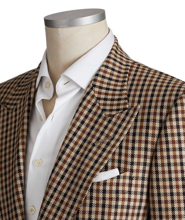 Shelton Wool, Mohair & Silk Sports Jacket image 1