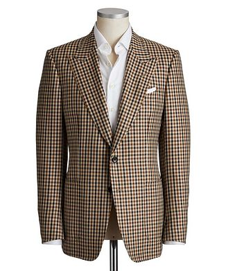 TOM FORD Shelton Wool, Mohair & Silk Sports Jacket