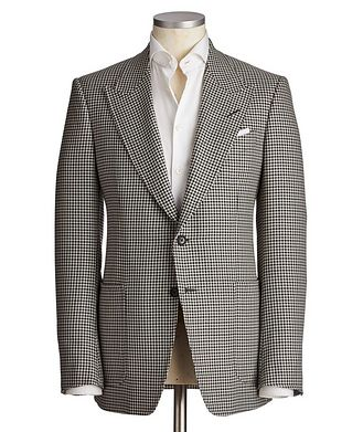 TOM FORD Shelton Wool, Mohair & Silk Sports Jacket